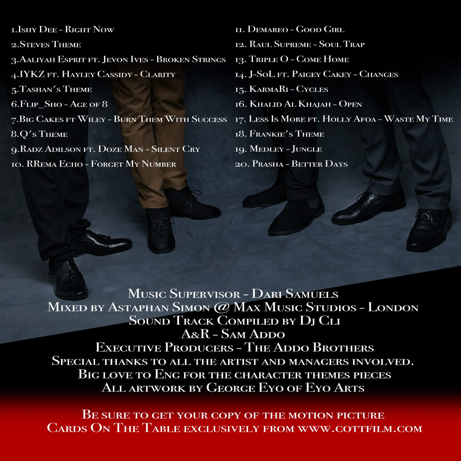 Soundtrack Album - Track List