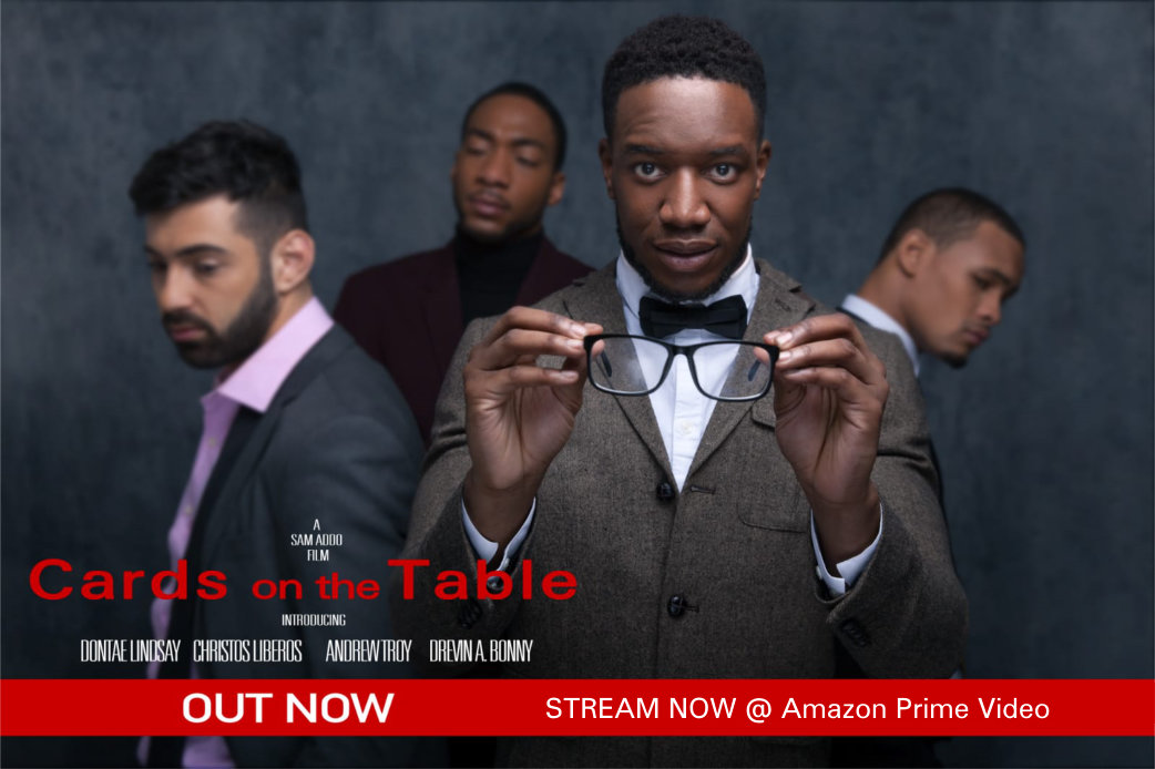 Cards On The Table Poster (Amazon) v2
